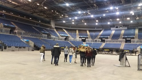 Business Echo Arena Trip